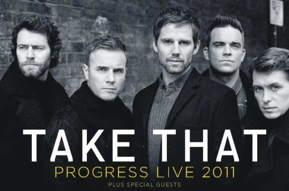 Take That - Progress Live Tour [2011]