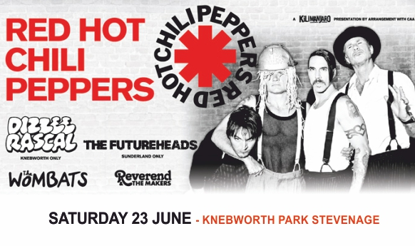 Red hot chili peppers tour dates in Brisbane