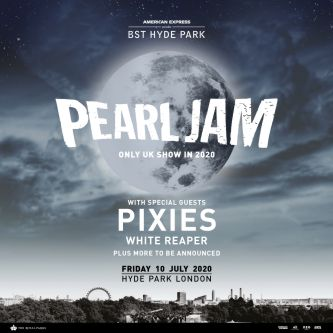 Pearl jam BST Hyde Park London 10 July 2020