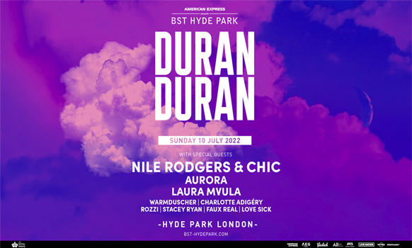 Duran Duran BST London Hyde Park