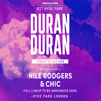 Duran Duran 10th July BST Hyde Park 2022