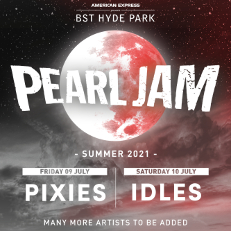 Pearl Jam 10th July 2021 BST Hyde Park