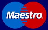 We Accept Maestro Card