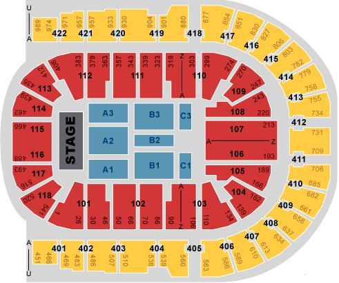 O2 Arena Seating Map The London O2 Arena O2 Arena Seating Map