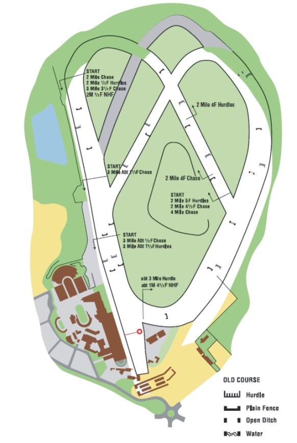 Cheltenham Racecourse Map Cheltenham Racecourse