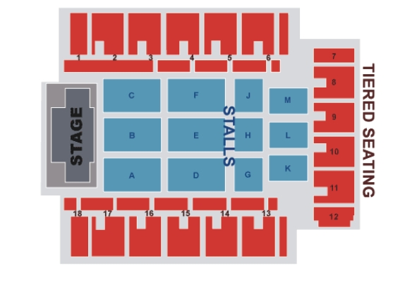 Image result for arena birmingham uk seating chart