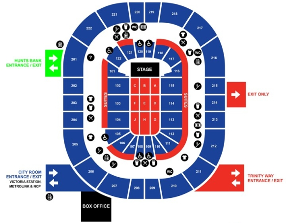 the who tickets manchester arena 05 april 2017