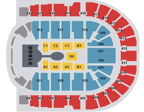 O2 arena london for 02 floor seating