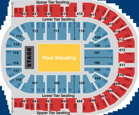The o2 london for 02 arena floor seating plan