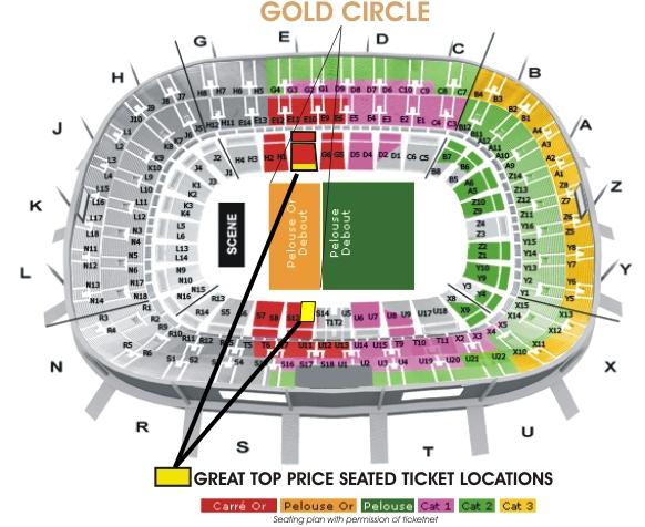Stade de france madonna 2012 - Location loge stade de france ...