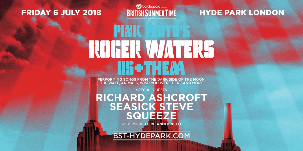 Roger Waters Tickets Hyde Park BST 2018 06 July 2018