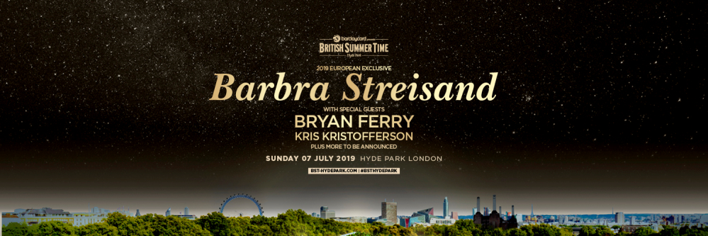 Barbra Streisand BST London 2019