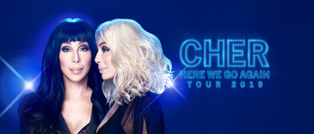Cher VIP Tickets Here We Go Again Tour 2019