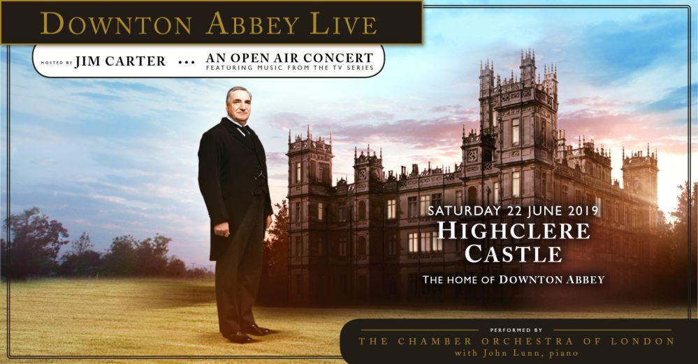 Downton Abbey Live Highclere Castle