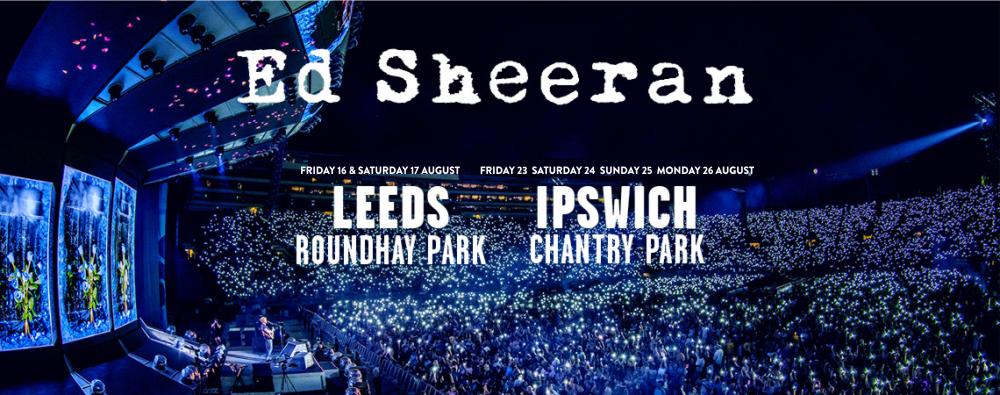 Ed Sheeran Dates Tour
