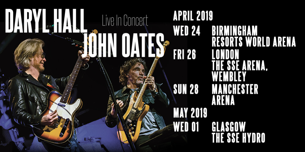 Image result for hall and oates uk tour 2019