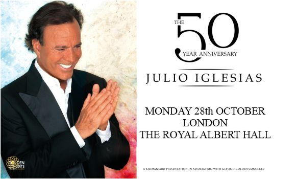 Julio Iglesias Tickets Wembley Arena London 26 June 2019