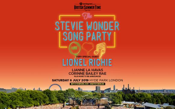Stevie Wonder BST London Hyde Park 06 July 2019