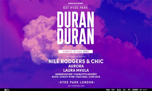 Duran Duran BST 12 July 2020