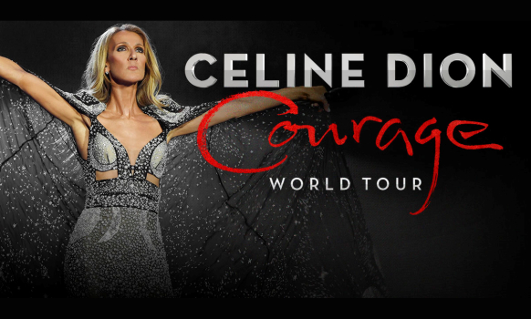 Celine Dion Courage World Tour 2022