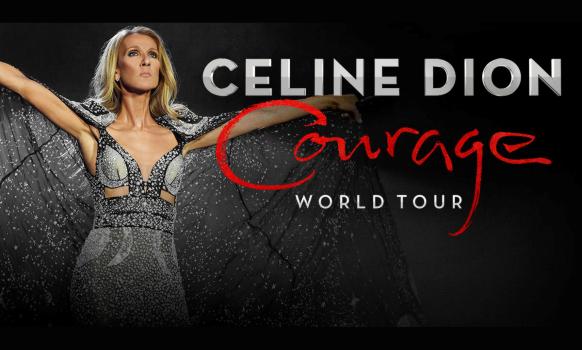 Celine Dion Courage World Tour 2022
