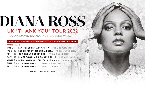Diana Ross - VIP Tickets 2021