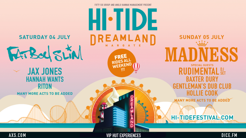 Hi Tide Dreamland Tickets Margate 2020