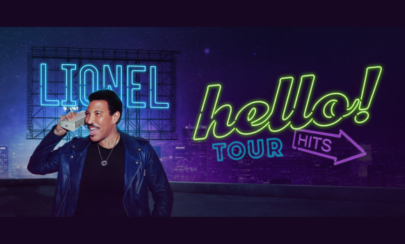 Lionel Richie Hello Tour 2020