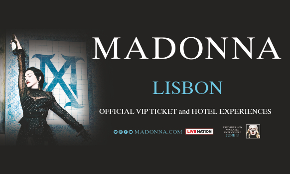 Madonna Lisbon and Paris Tickets 2020