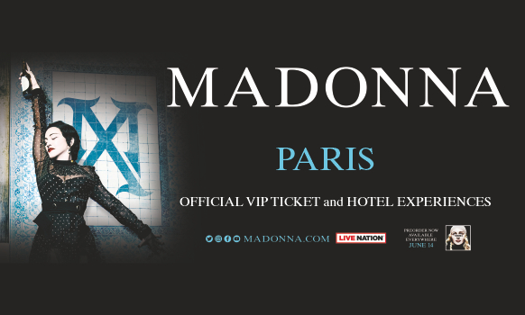 Madonna Paris VIP Tickets 2020