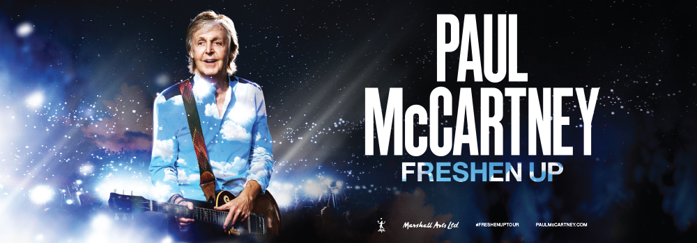 Paul McCartney Freshen Up Tour 2020