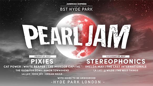 Pearl Jam BST 2021
