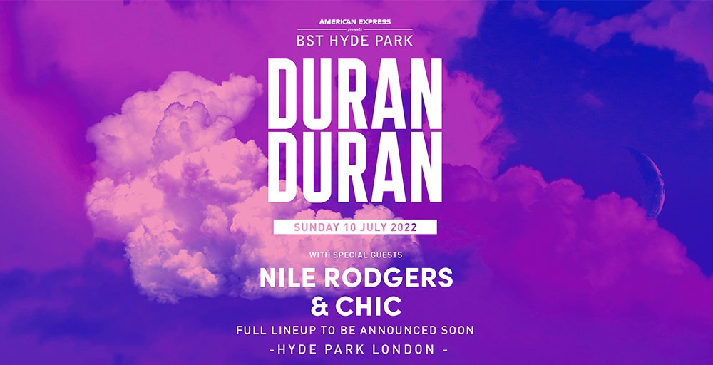 Duran Duran BST London Hyde Park 11 July 2021