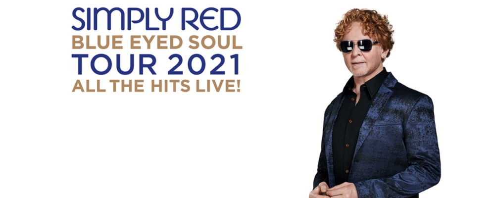 Simply Red Tickets 2021 UK and Europe