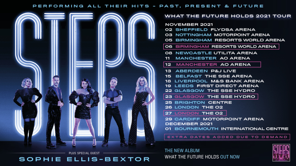 STEPS VIP Tickets - Tour 2021