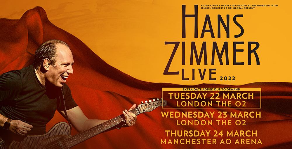 Hans Zimmer Live Tour 2022