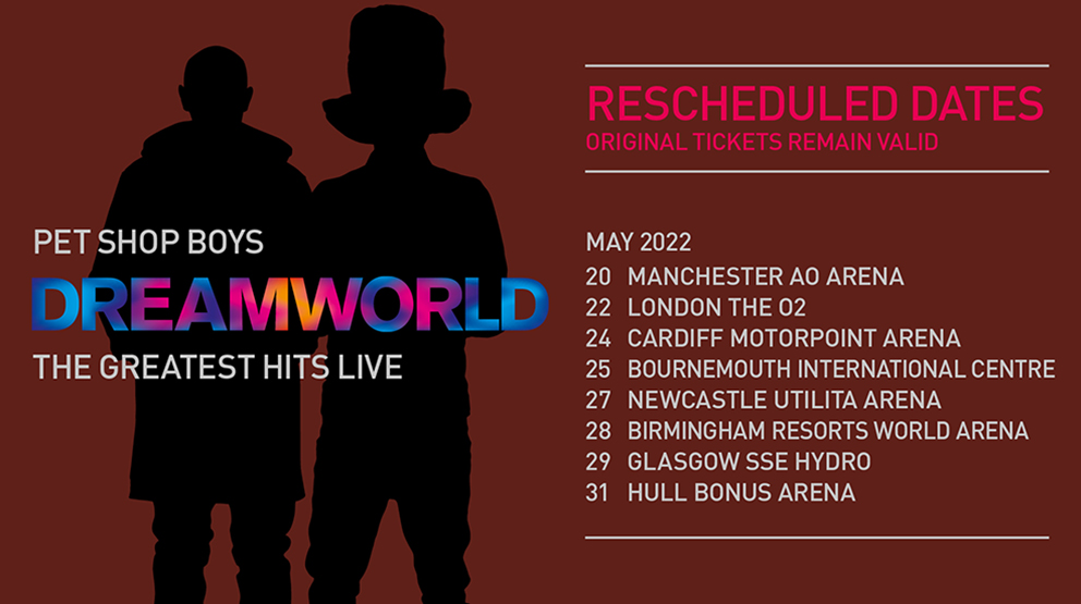 Per Shop Boys Dreamworld The Greatest Hits Live Tour 2022
