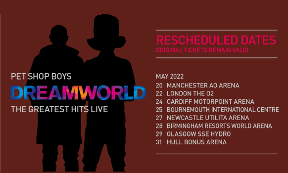 Pet Shop Boys Dreamworld Tour 2022