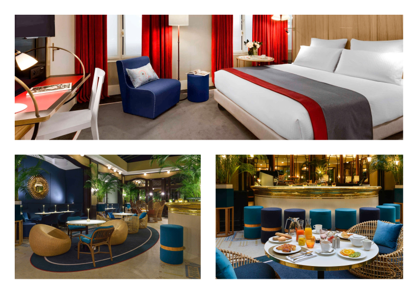 Hotel L'Echiquier Op�ra Paris MGallery by Sofitel