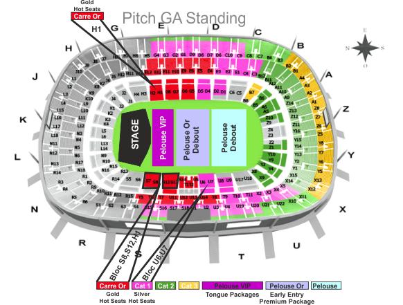 Stade de france rolling stones 2014 - Location loge stade de france ...