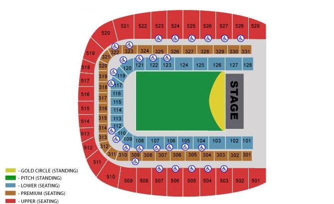 Robbie Williams Tickets Dublin Aviva Stadium 17 June 2017