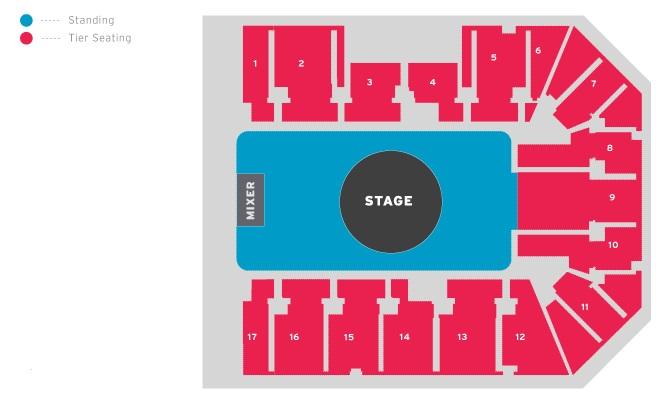 Genting Arena Birmingham Standing