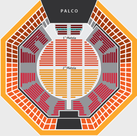 Seating plan Coliseu dos Recreios