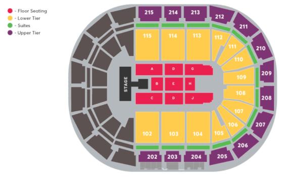 AO Arena Manchester - STEPS 2021