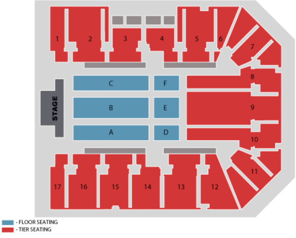 Genting Arena Birmingham Seated