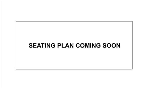 Seating Plan coming soon