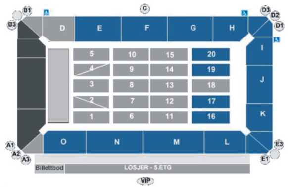 Bare ut Telenor Arena Oslo TO-87