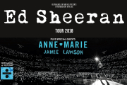 Ed Sheeran Official Ticket and Hotel Packages 2018