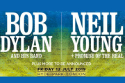 Bob Dylan and Neil Young VIP Tickets Hyde Park 2019