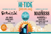 Hi Tide Dreamland 2021 VIP Tickets - Fatboy Slim and Madness